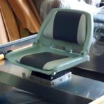 Fixed Seat Base with Quick Release Bracket Swivel & Standard Seat